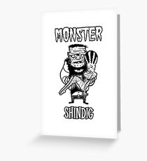 Monster Shindig's Franken' Kreep Greeting Card