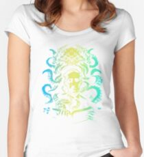 lovecraft Cthulhu Women's Fitted Scoop T-Shirt