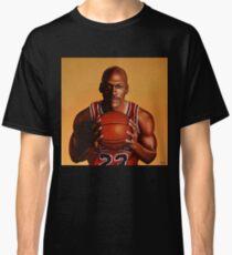 Michael Jordan painting 2 Classic T-Shirt