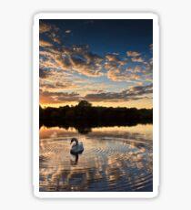 swan lake Sticker