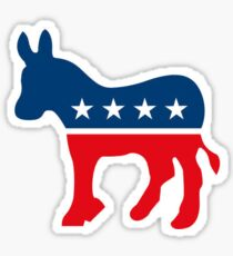Proud Democrat - Democratic Party Sticker