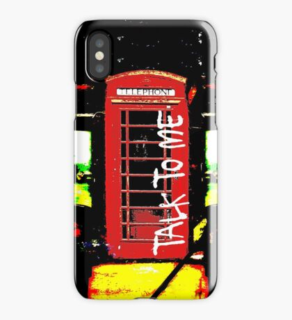 Talk To ME iPhone Case