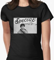 Special Orders Elliott Smith Womens Fitted T-Shirt