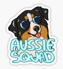 AUSSIE SQUAD (black tri) Sticker