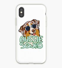 AUSSIE SQUAD (roter Merle) iPhone-Hülle & Cover