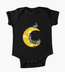 Hanging on the Moon One Piece - Short Sleeve