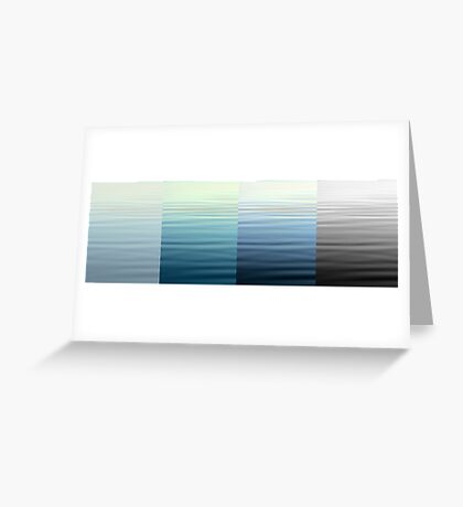 Fading Memory Greeting Card