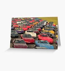 Corvette Heaven Greeting Card