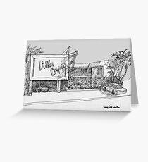 A Coronado Island Motel Greeting Card
