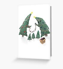 Christmas Clothes Greeting Card