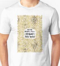 Bridges Burned – Gold Unisex T-Shirt