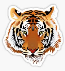 Tiger 578 Sticker