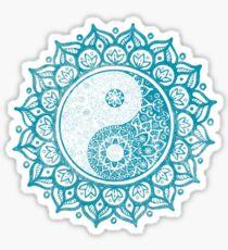 Yin-Yang Mandala Sticker