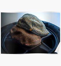 Duckbill Hats Poster