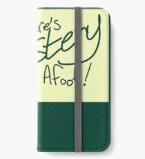 There's mystery afoot! iPhone Wallet/Case/Skin