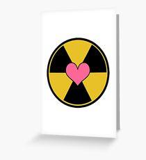 Holtzmann Symbol Greeting Card