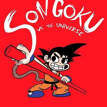Son Goku vs The Universe by cjboucher