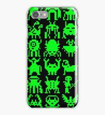 Warp Zone Creatures: Green iPhone Case/Skin