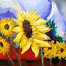 Sunflowers by Steve Campbell