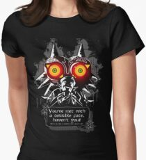 Majoras Mask - Meeting With a Terrible Fate Women's Fitted T-Shirt