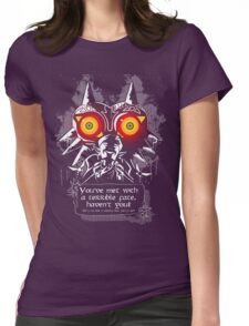 Majoras Mask - Meeting With a Terrible Fate Womens Fitted T-Shirt