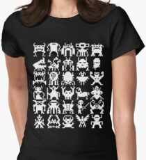 Warp Zone Creatures: White T-Shirt