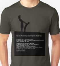 Poem - 'Your hate' T-Shirt