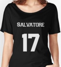 Salvatore— White Women's Relaxed Fit T-Shirt
