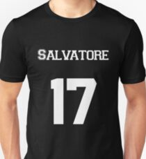 Salvatore— White Unisex T-Shirt