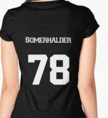 Ian Somerhalder Women's Fitted Scoop T-Shirt