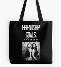 Freundschaftsziele; Clizzy - Weiß Tote Bag