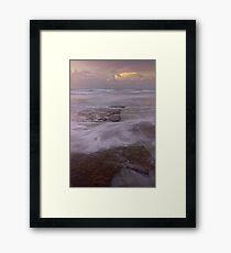 Cable beach rocks Framed Print