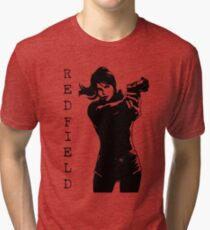Claire Redfield Resident Evil 2 Tri-blend T-Shirt