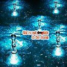 « Muse - Droplets in ocean blue » par clad63