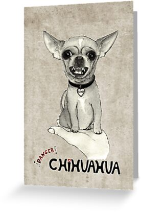 Danger, chihuahua. by barruf