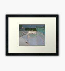 street - spain Framed Print