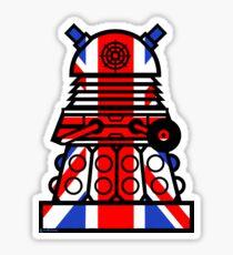 Dr Who - Jack Dalek Tee Sticker