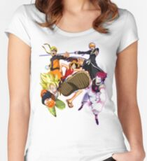 Composition anime2! Women's Fitted Scoop T-Shirt