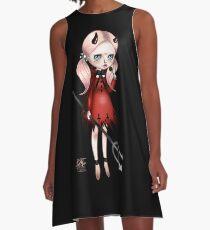 Little Krampus A-Line Dress