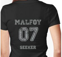 MALFOY #07. Womens Fitted T-Shirt