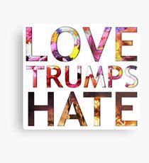Love Trumps Hate 2016 Metal Print