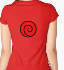 Uzu Symbol  Women's Fitted Scoop T-Shirt
