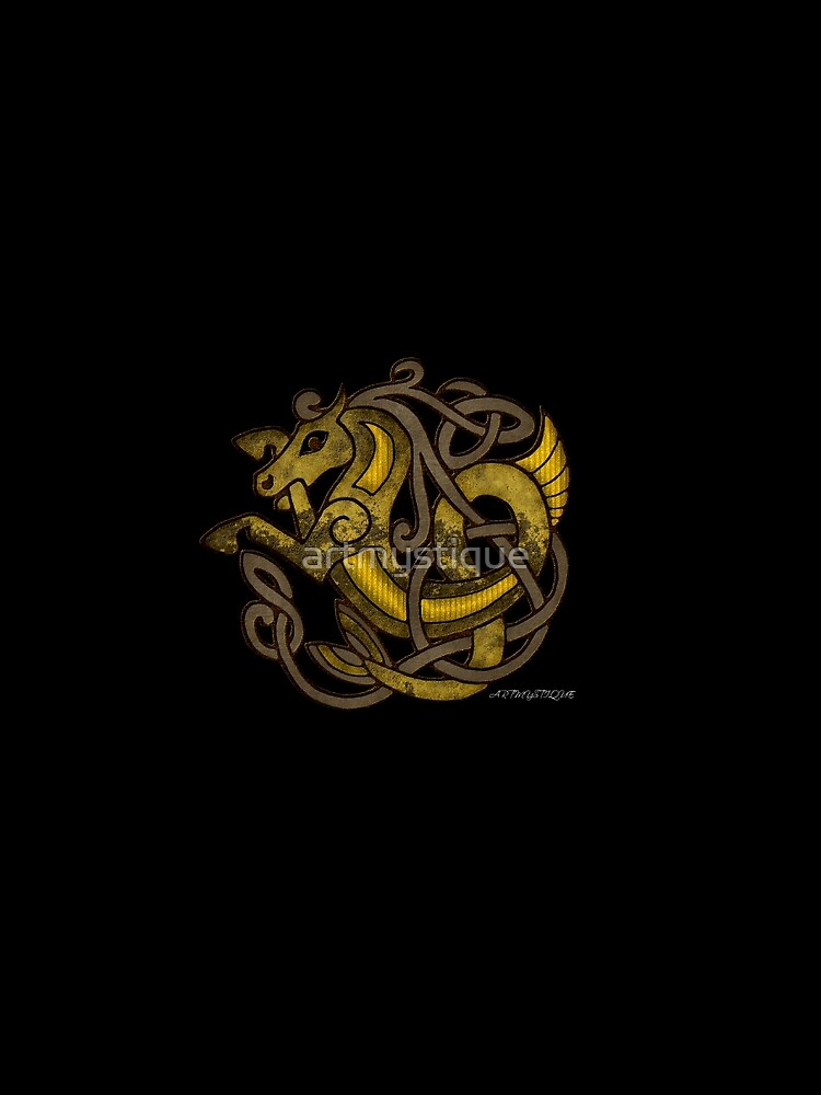 Celtic Water Kelpie by artmystique