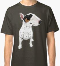 Johnny Cash Bull Terrier  Classic T-Shirt