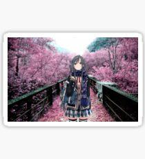 Yukinoshita Yukino Sakura Sticker