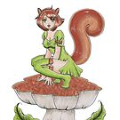 Squirrel Girl by rbrogdenart