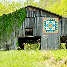 Kentucky Barn Quilt - Thunder and Lightening by mcstory