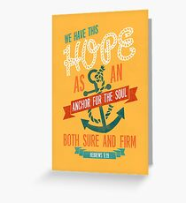 HEBREWS 6:19 Greeting Card