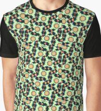 Irregular Geometric Pattern Graphic T-Shirt