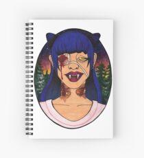 Vampire Girls Will Never Hurt You Spiral Notebook
